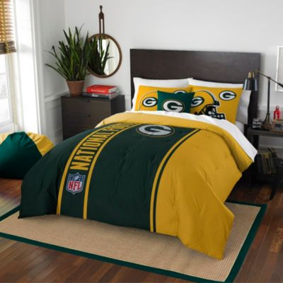 NFL Green Bay Packers Full Embroidered Comforter Set
