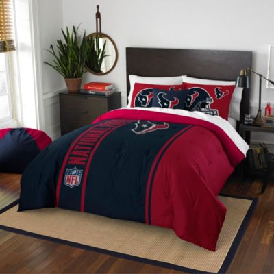 NFL Houston Texans Full Embroidered Comforter Set