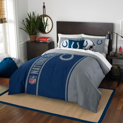 NFL Indianapolis Colts Twin Embroidered Comforter Set