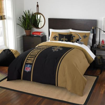 NFL New Orleans Saints Twin Embroidered Comforter Set