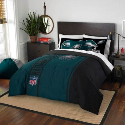 NFL Philadelphia Eagles Full Embroidered Comforter Set
