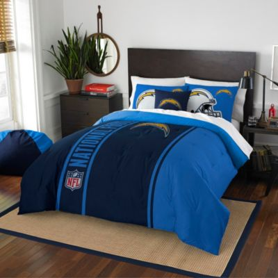 NFL San Diego Chargers Twin Embroidered Comforter Set
