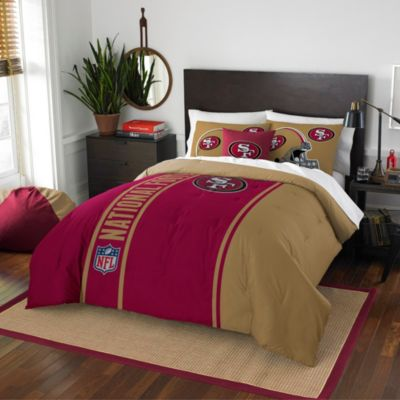 NFL San Francisco 49ers Twin Embroidered Comforter Set