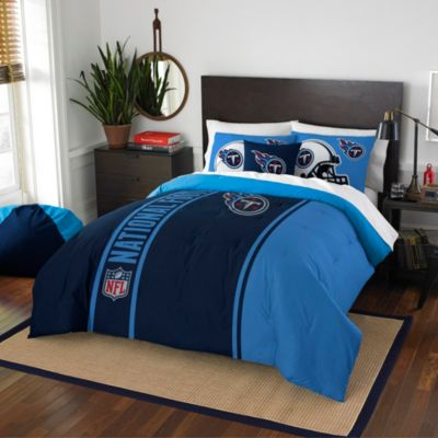 NFL Tennessee Titans Full Embroidered Comforter Set