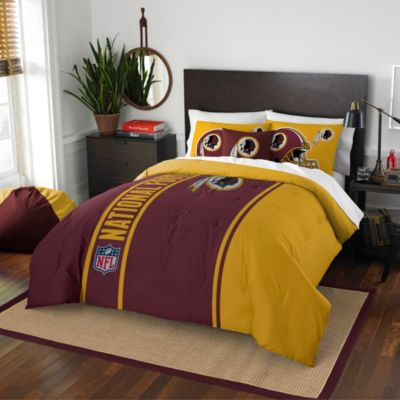 NFL Washington Redskins Full Embroidered Comforter Set