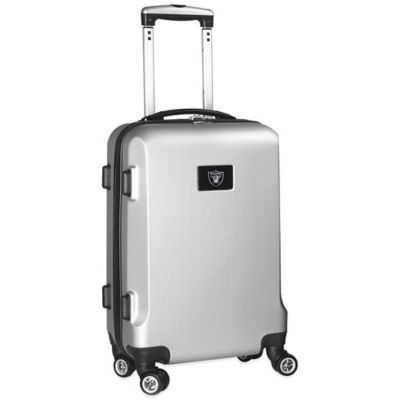 NFL Oakland Raiders 20-Inch Hardside Carry On Spinner