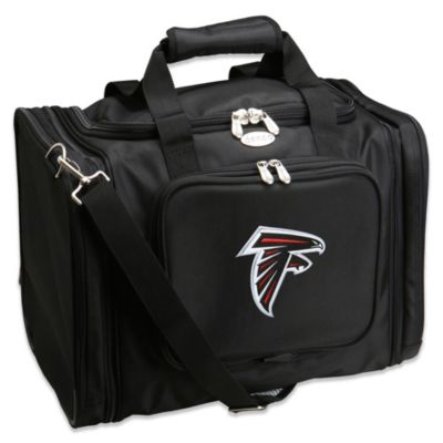 NFL Atlanta Falcons 22-Inch Black Travel Duffel