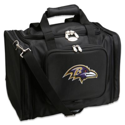 NFL Baltimore Ravens 22-Inch Black Travel Duffel