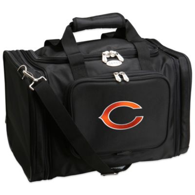 NFL Chicago Bears 22-Inch Black Travel Duffel