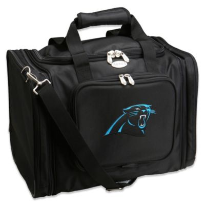 NFL Carolina Panthers 22-Inch Black Travel Duffel