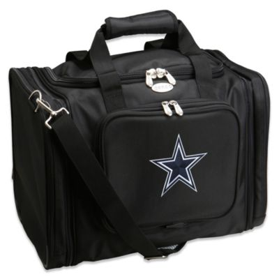 NFL Dallas Cowboys 22-Inch Black Travel Duffel