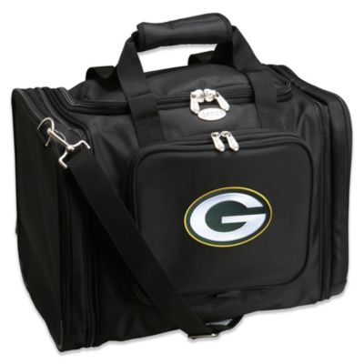 NFL Green Bay Packers 22-Inch Black Travel Duffel