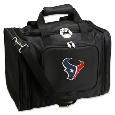 NFL Houston Texans 22-Inch Black Travel Duffel