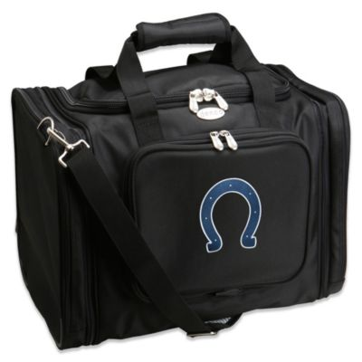 NFL Indianapolis Colts 22-Inch Black Travel Duffel