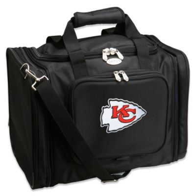 NFL Kansas City Chiefs 22-Inch Black Travel Duffel