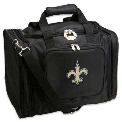 NFL New Orleans Saints 22-Inch Black Travel Duffel