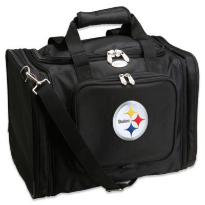 NFL Pittsburgh Steelers 22-Inch Black Travel Duffel