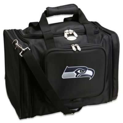 NFL Seattle Seahawks 22-Inch Black Travel Duffel
