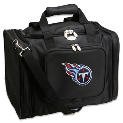 NFL Tennessee Titans 22-Inch Black Travel Duffel