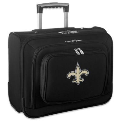 NFL New Orleans Saints 14-Inch Laptop Overnighter