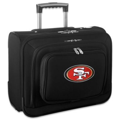 NFL San Francisco 49ers 14-Inch Laptop Overnighter