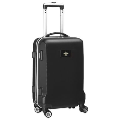 NFL New Orleans Saints 20-Inch Hardside Carry On Spinner