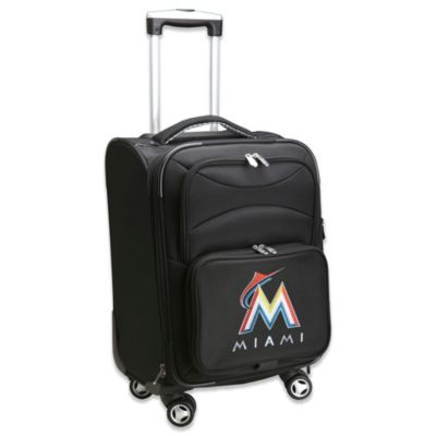 MLB Miami Marlins 20-Inch Carry On Spinner