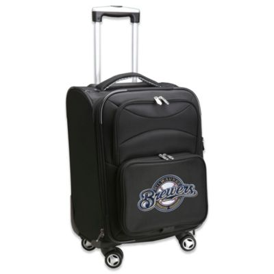 MLB Milwaukee Brewers 20-Inch Carry On Spinner