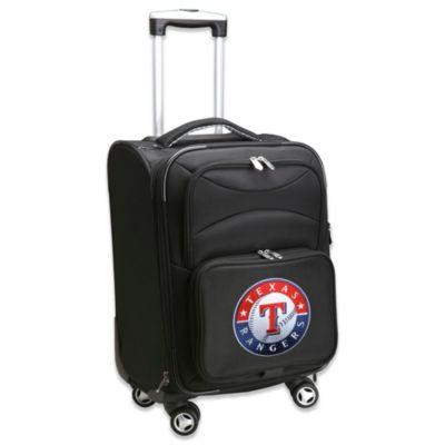 MLB Texas Rangers 20-Inch Carry On Spinner