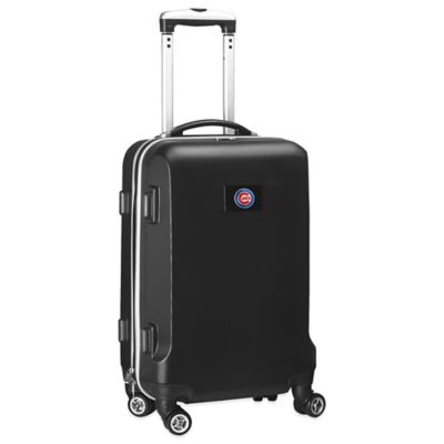 MLB Chicago Cubs 20-Inch Hardside Carry On Spinner in Black