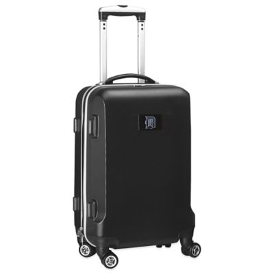 MLB Detroit Tigers 20-Inch Hardside Carry On Spinner in Black