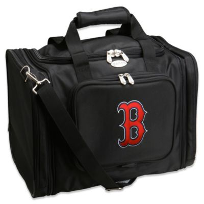 MLB Boston Red Sox 22-Inch Drop Bottom Rolling Duffel Bag