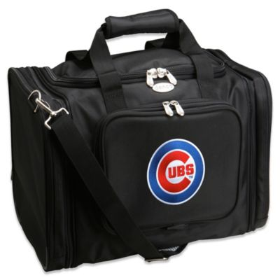 MLB Chicago Cubs 22-Inch Drop Bottom Rolling Duffle Bag