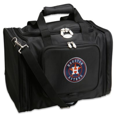 MLB Houston Astros 22-Inch Drop Bottom Rolling Duffel Bag