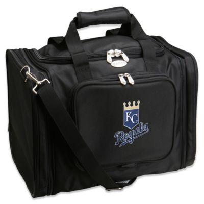MLB Kansas City Royals 22-Inch Drop Bottom Rolling Duffel Bag