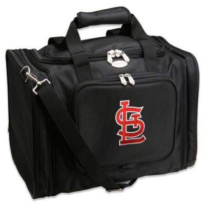 MLB St. Louis Cardinals 22-Inch Drop Bottom Rolling Duffel Bag