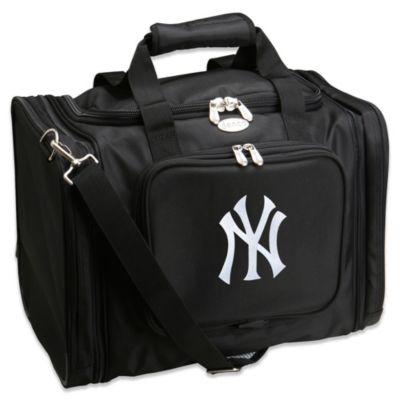 MLB New York Yankees 22-Inch Drop Bottom Rolling Duffel Bag