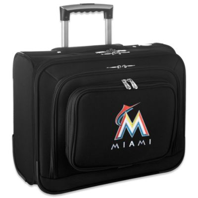 MLB Miami Marlins 14-Inch Laptop Overnighter
