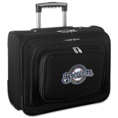 MLB Milwaukee Brewers 14-Inch Laptop Overnighter