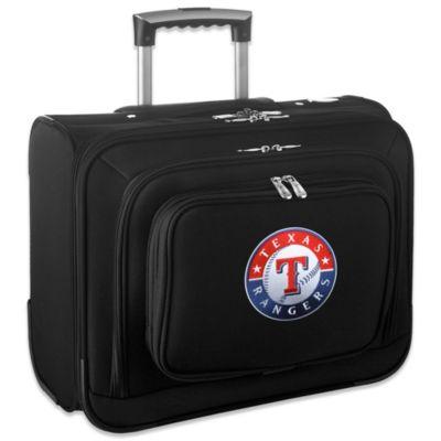 MLB Texas Rangers 14-Inch Laptop Overnighter