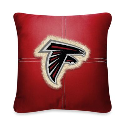 NFL Atlanta Falcons 18-Inch Letterman Throw Pillow