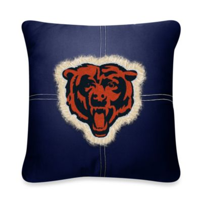 NFL Chicago Bears 18-Inch Letterman Throw Pillow