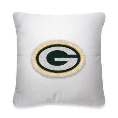 NFL Green Bay Packers 18-Inch Letterman Toss Pillow