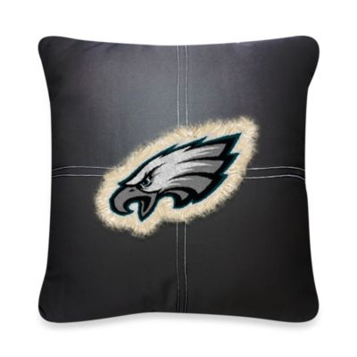 NFL Philadelphia Eagles 18-Inch Letterman Throw Pillow