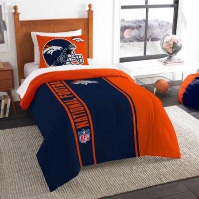 NFL Denver Broncos Twin Embroidered Comforter Set