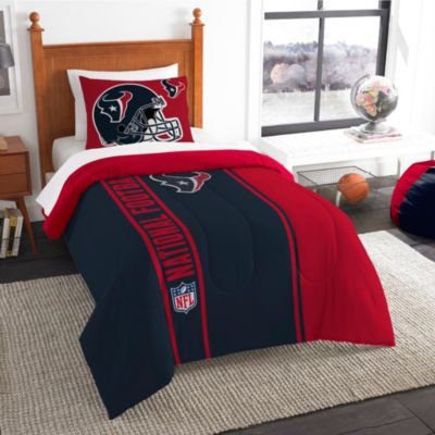 NFL Houston Texans Twin Embroidered Comforter Set