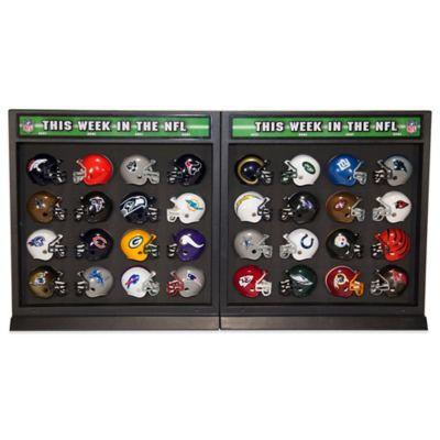 Riddell NFL 32-Piece Helmet Match-Up Display Set