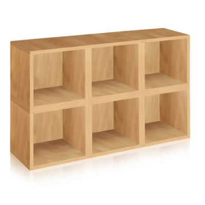 Way Basics® Storage Cubes in Natural (Set of 6)