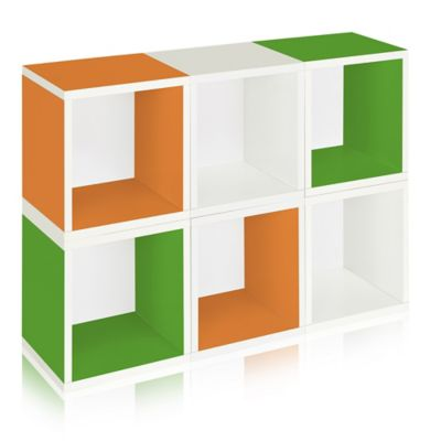 Way Basics® Storage Cubes in Multi-Color (Set of 6)