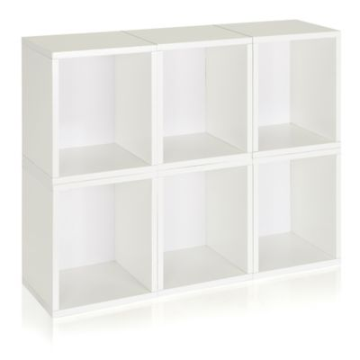 Way Basics® Storage Cubes Plus in White (Set of 6)